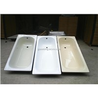 Enameled Steel Bathtub
