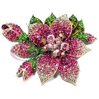 Swarovski Crystal Brooches