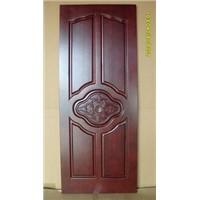 painted solid wood door