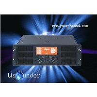 US series professional amplifier