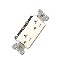 20A Decorative Duplex Receptacle (8307)