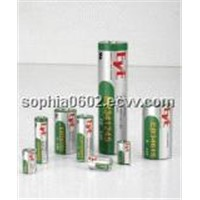 Bobbbin type Li/SOCl2 battery