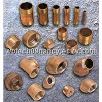 Brass Pipe Nipples & Bronze Fittings