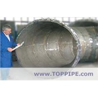 Ceramic lined- composite steel pipes