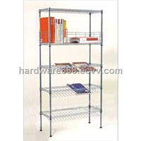 China Four Deck Wire Magazine Shelf (OW01)