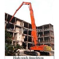 Hitachi EX330 Demolition