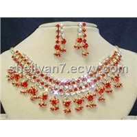 Fashion gold silver jewelry sets