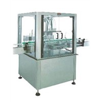 straight liqiud filling machine