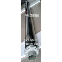 High temperature vacuum tube collector
