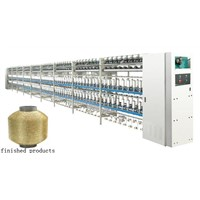 KC160-A Golden and silver yarn double covering machine