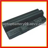 Laptop Battery for ASUS EeePC 900A,900HA,701SD,701SDX (4/6/8 cells,4400/6600/8800mAh)
