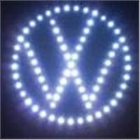 Led car logo/ Volkswagen