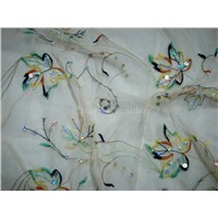 Mesh Spangle Embroidery (Z07002)