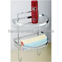 Metal Double-deck Bath holder,Iron Bathroom Accessories