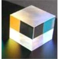 Narrow band beamsplitter cube or plate