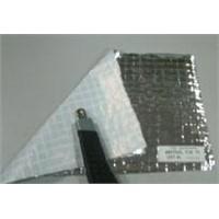 PE tarpaulin coat with aluminum foil