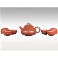 Purple Clay Tea Set