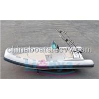 RIB boat 4.8m