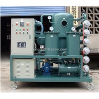 Single stage vacuum insulation oil refinery plant