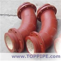 Ceramic-lined steel Pipes-elbow