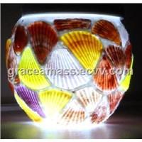 Hand Glass Solar LED Lamp (AM-012LS)