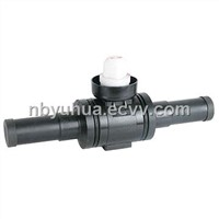 pe standard ball valve