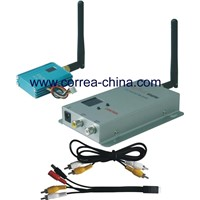 2.4GHz 700mW wireless audio video transmitter receiver