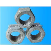 BS standard hex nuts and Hex flange nut