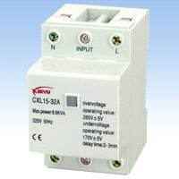 Full-Automatic Over-Voltage/Under-Voltage Protector CXL15