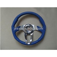 Blue Steering Wheel (HR-85112)