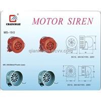 Motor Siren (Servo Motor,Motor Driven Siren)