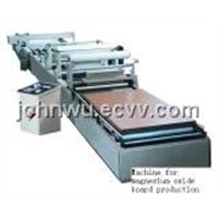 Machine for Magnesium Oxide Board Production