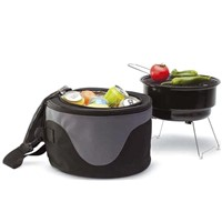 Portable BBQ Grill With Cooler Bag (JH30323)