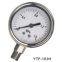 Severe service gauge with screwed ring and sealed case