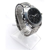 Stylish Hidden Watch Camera with Stainless Steel Strap (DVR