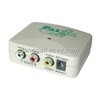 TV Video System Converter (NTSC->PAL)