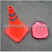 Telescopic Road-Block with Warning Light (LTE-4021)