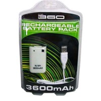 XBOX 360 3600 Rechargeable Battery Pack