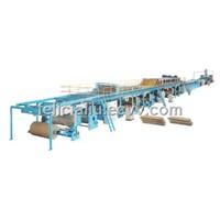 cardboard production line