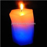 color changing candle