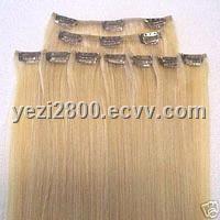 Human Hair Clips-In-Hair Extension