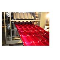 Plastic Glazed Tile Production Line