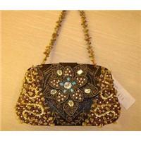 stunning beaded bag