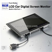 10 Inch Touch Button LCD Monitor Built-In VGA  CY50101