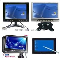 "8"" (4:3) Desktop/Wall-Mount VGA/AV Touch Screen Monitor"