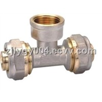 BRASS FITTING FOR PEX-AL-PEX PIPE