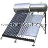 Compact Pressurized Heat Pipe Solar Water Heaters