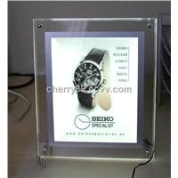 Crystal Advertising Light box