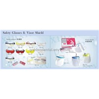 Dental Safety Glasses, Visor Shield