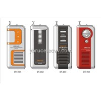 FM Mini Radio with Speaker& Belt Clip